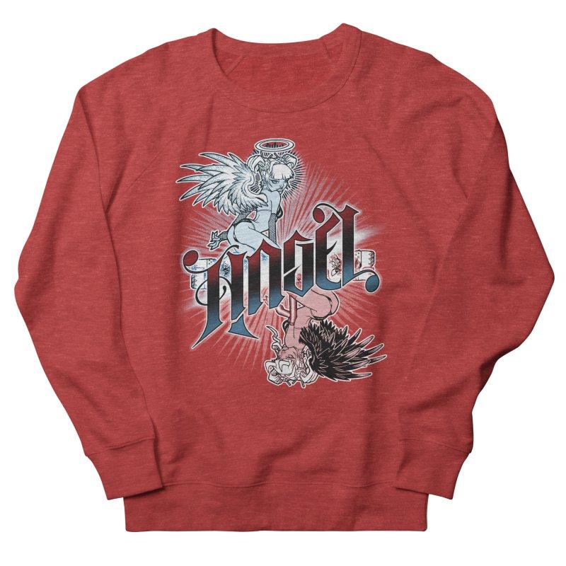 ANGEL DEVIL Men's Sweatshirt by Inkdwell's Artist Shop