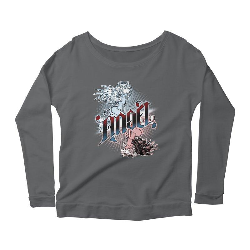 ANGEL DEVIL Women's Longsleeve T-Shirt by Inkdwell's Artist Shop