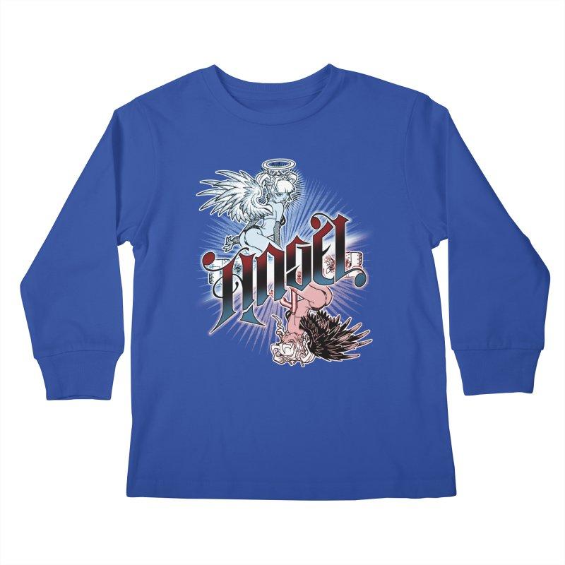 ANGEL DEVIL Kids Longsleeve T-Shirt by Inkdwell's Artist Shop