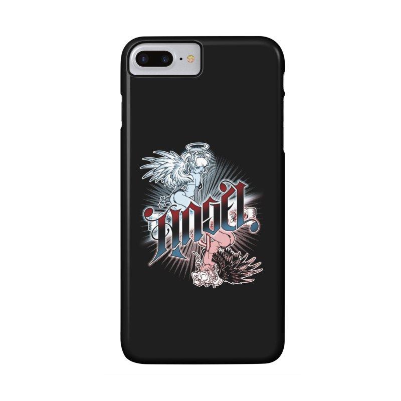 ANGEL DEVIL Accessories Phone Case by Inkdwell's Artist Shop
