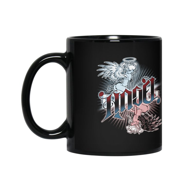 ANGEL DEVIL Accessories Mug by Inkdwell's Artist Shop