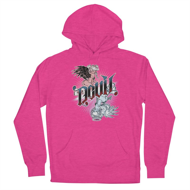 DEVIL ANGEL Men's Pullover Hoody by Inkdwell's Artist Shop