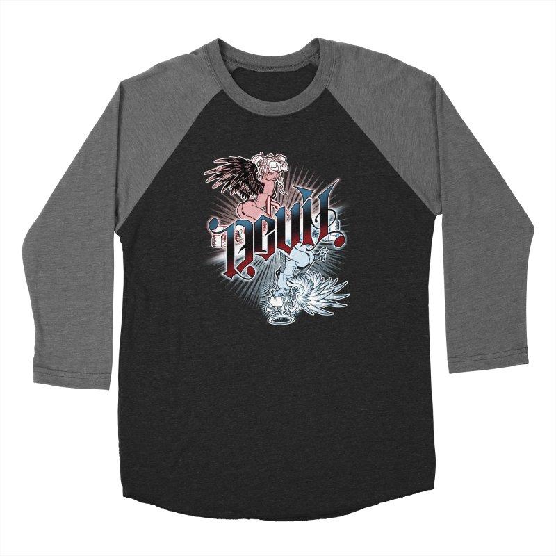 DEVIL ANGEL Men's Longsleeve T-Shirt by Inkdwell's Artist Shop
