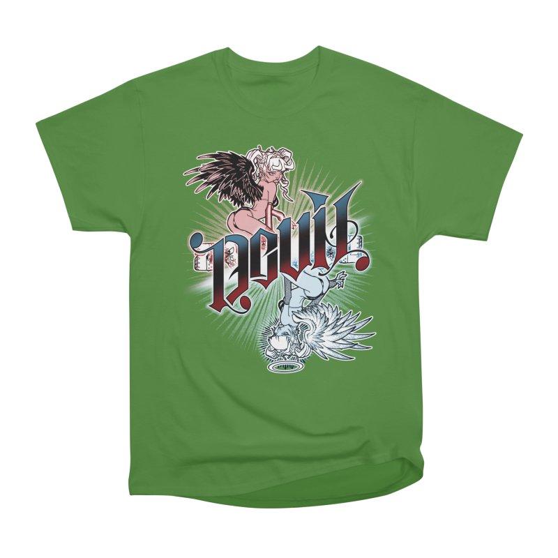 DEVIL ANGEL Men's Classic T-Shirt by Inkdwell's Artist Shop
