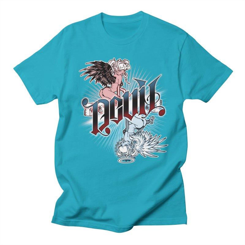 DEVIL ANGEL Women's Regular Unisex T-Shirt by Inkdwell's Artist Shop