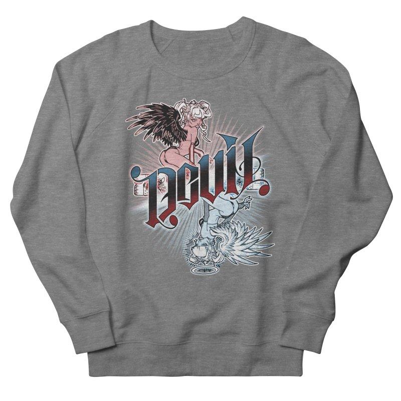 DEVIL ANGEL Women's Sweatshirt by Inkdwell's Artist Shop