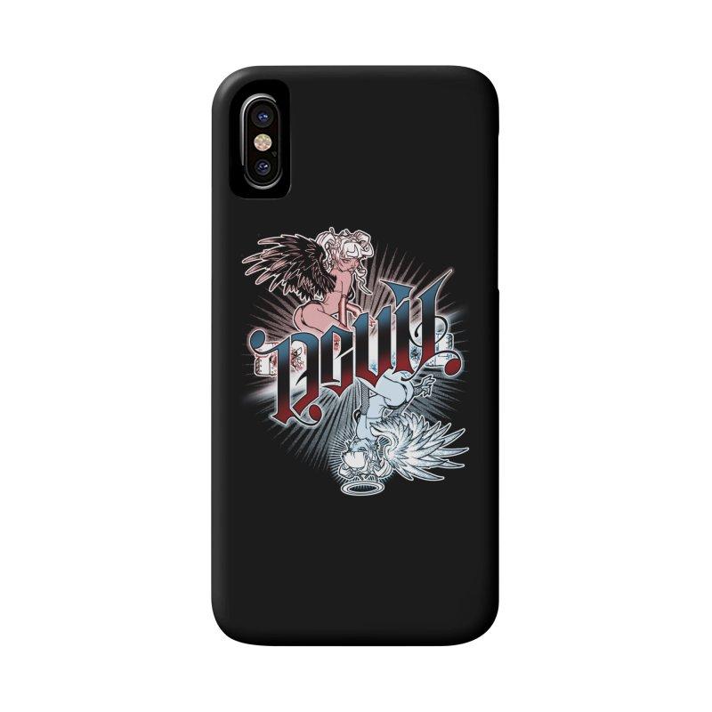 DEVIL ANGEL Accessories Phone Case by Inkdwell's Artist Shop