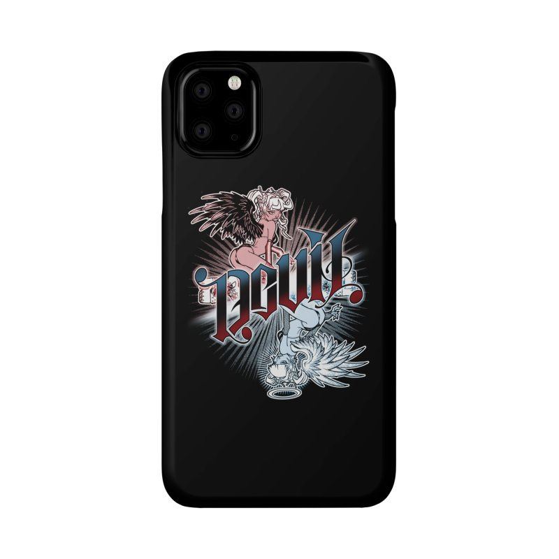 DEVIL ANGEL Accessories Phone Case by Inkdwell's Artist Shop