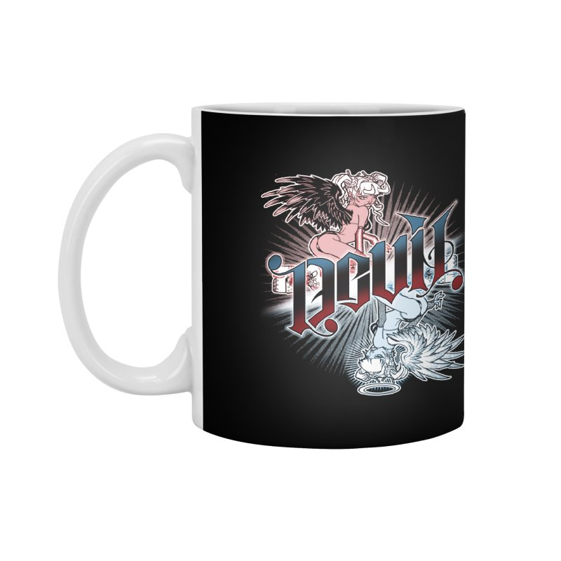 DEVIL ANGEL Accessories Mug by Inkdwell's Artist Shop