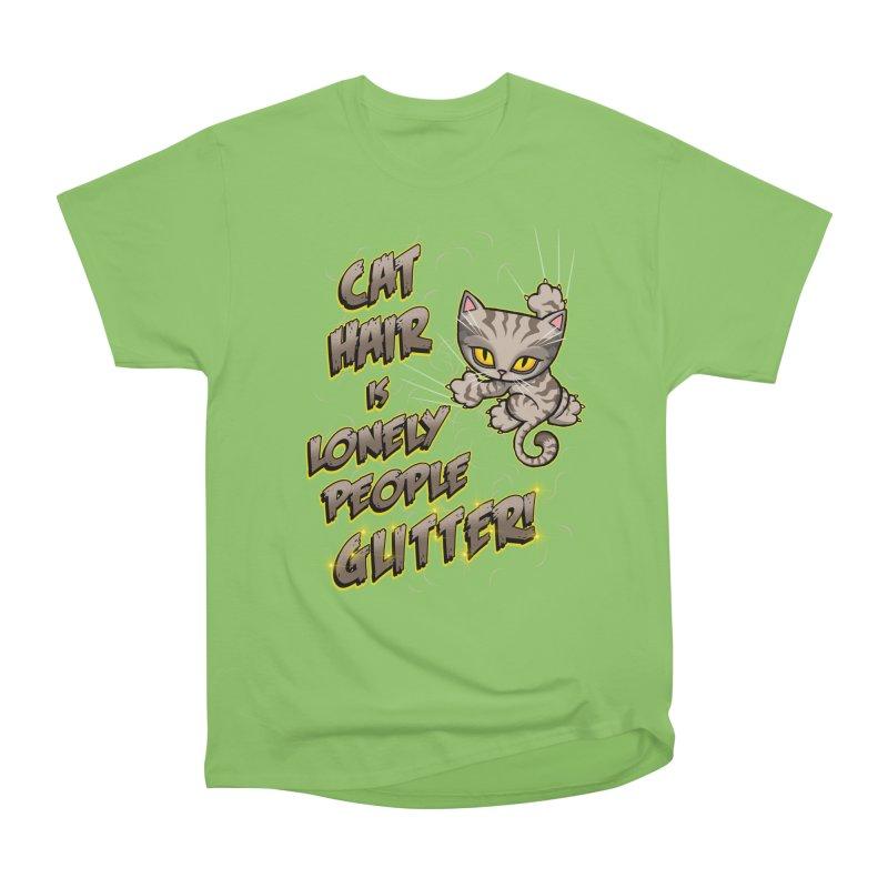CAT HAIR!!! Men's Heavyweight T-Shirt by Inkdwell's Artist Shop