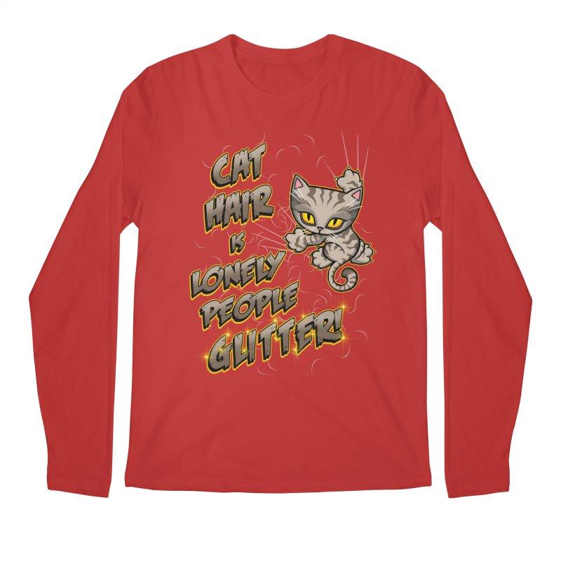 CAT HAIR!!! Men's Regular Longsleeve T-Shirt by Inkdwell's Artist Shop