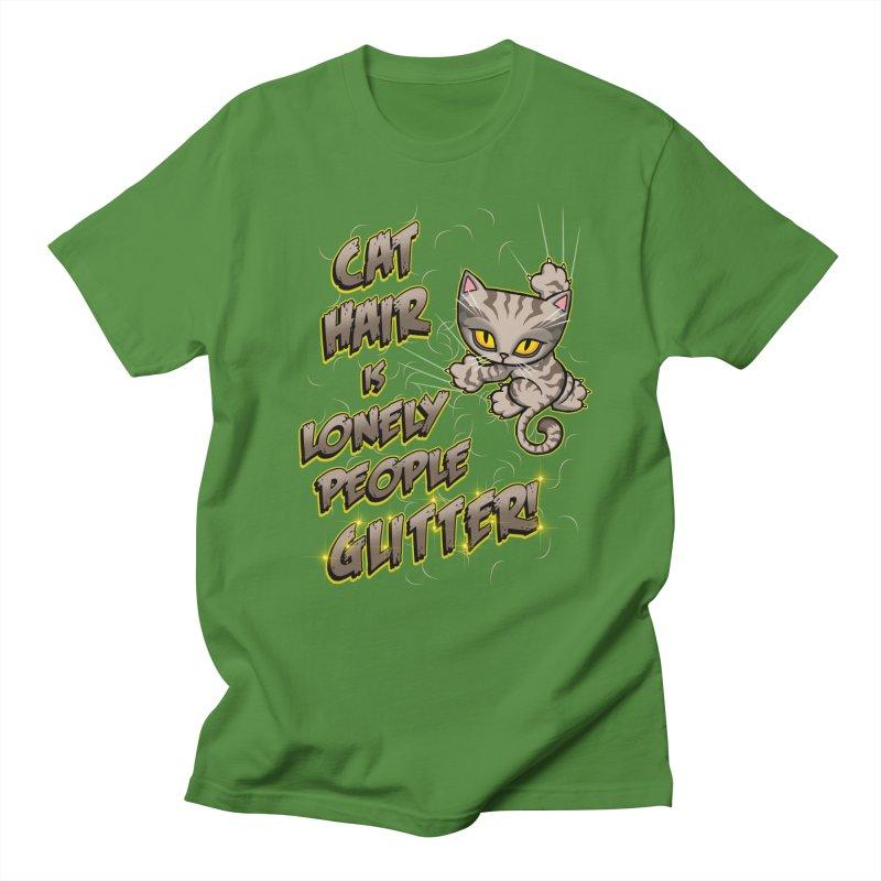 CAT HAIR!!! Men's T-Shirt by Inkdwell's Artist Shop