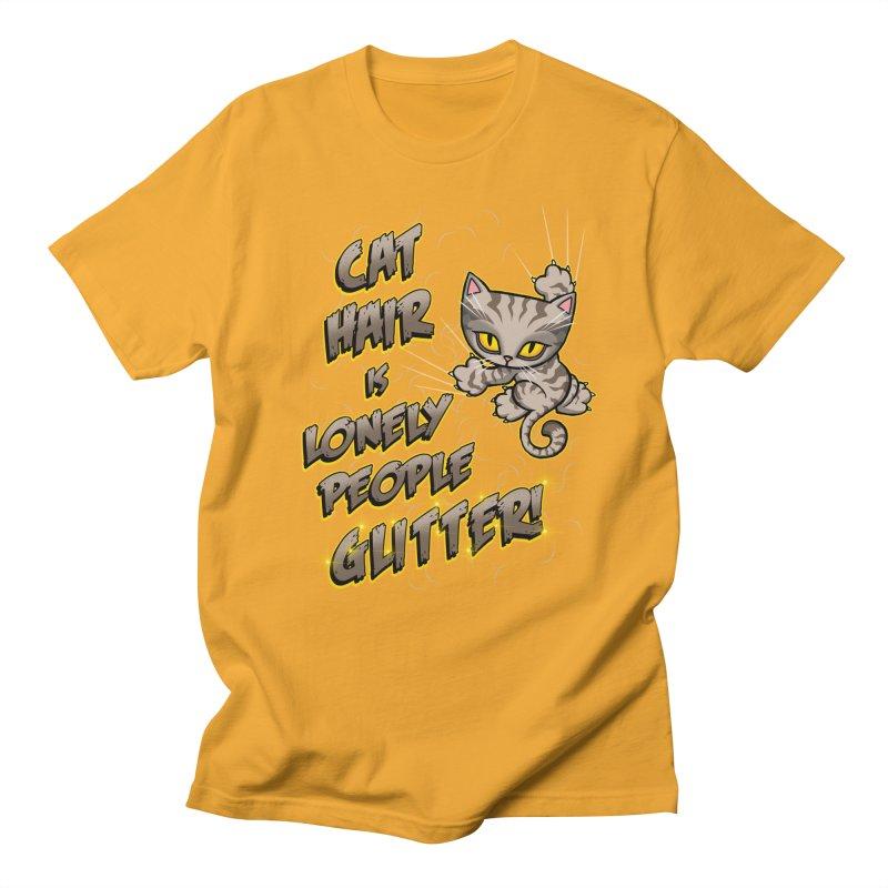 CAT HAIR!!! Women's Regular Unisex T-Shirt by Inkdwell's Artist Shop