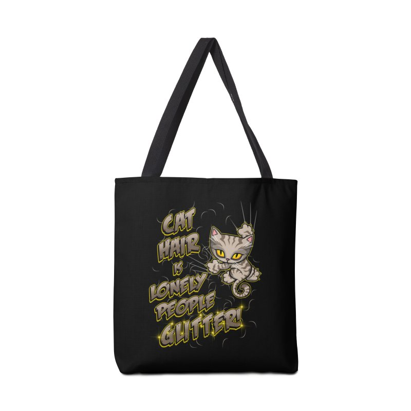 CAT HAIR!!! Accessories Bag by Inkdwell's Artist Shop