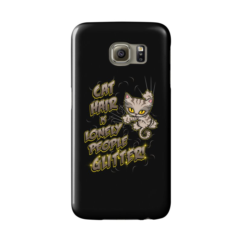 CAT HAIR!!! Accessories Phone Case by Inkdwell's Artist Shop