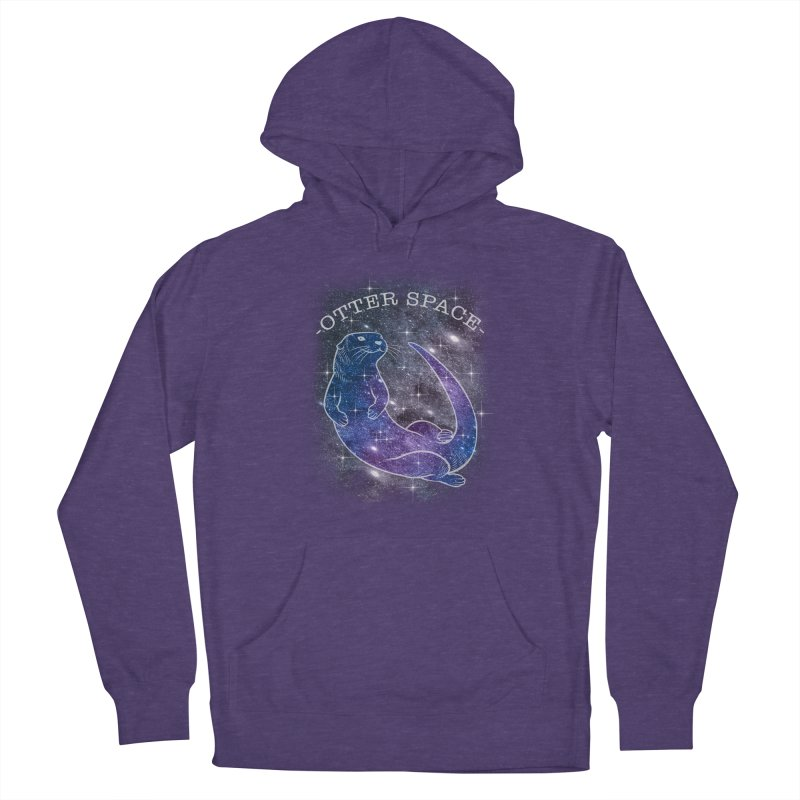 -SPACE OTTER1- Men's Pullover Hoody by Inkdwell's Artist Shop