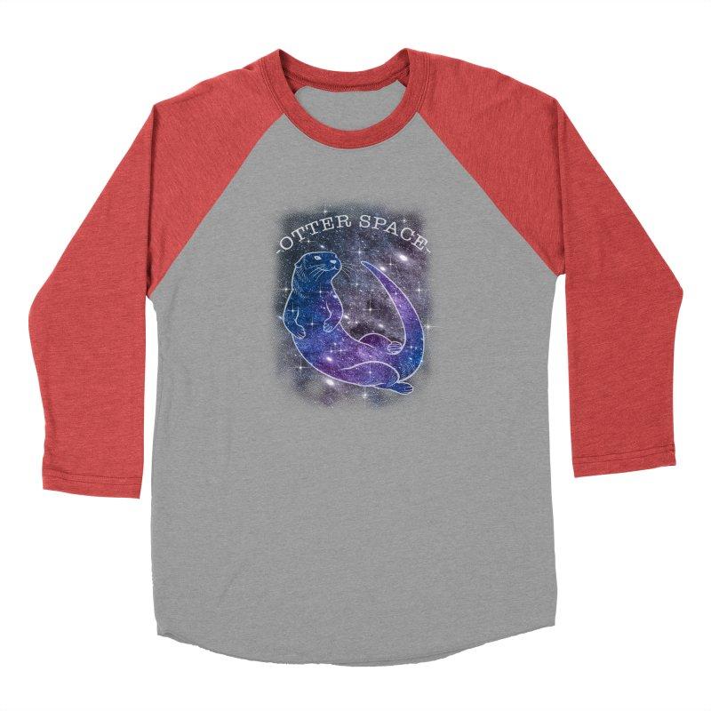 -SPACE OTTER1- Men's Longsleeve T-Shirt by Inkdwell's Artist Shop