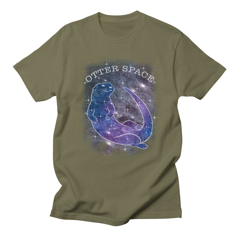 -SPACE OTTER1- Women's Regular Unisex T-Shirt by Inkdwell's Artist Shop