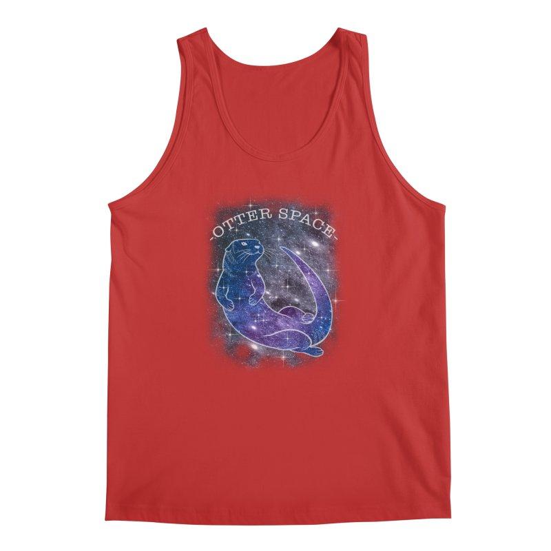 -SPACE OTTER1- Men's Regular Tank by Inkdwell's Artist Shop