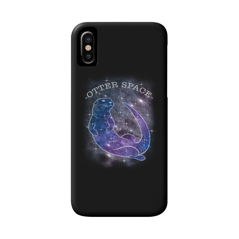 -SPACE OTTER1- Accessories Phone Case by Inkdwell's Artist Shop