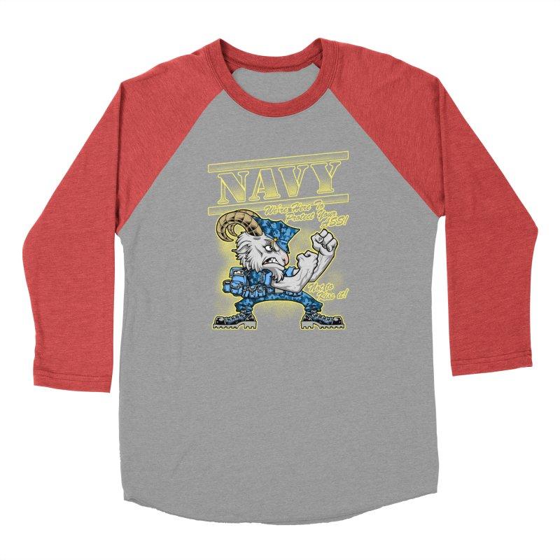 NAVY GOAT! Women's Longsleeve T-Shirt by Inkdwell's Artist Shop