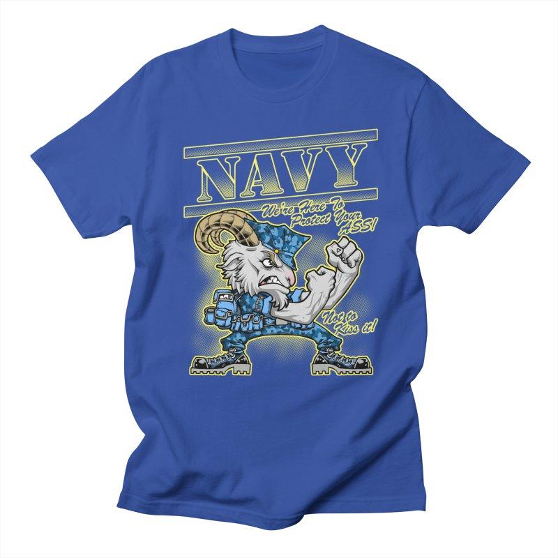 NAVY GOAT! Women's Regular Unisex T-Shirt by Inkdwell's Artist Shop