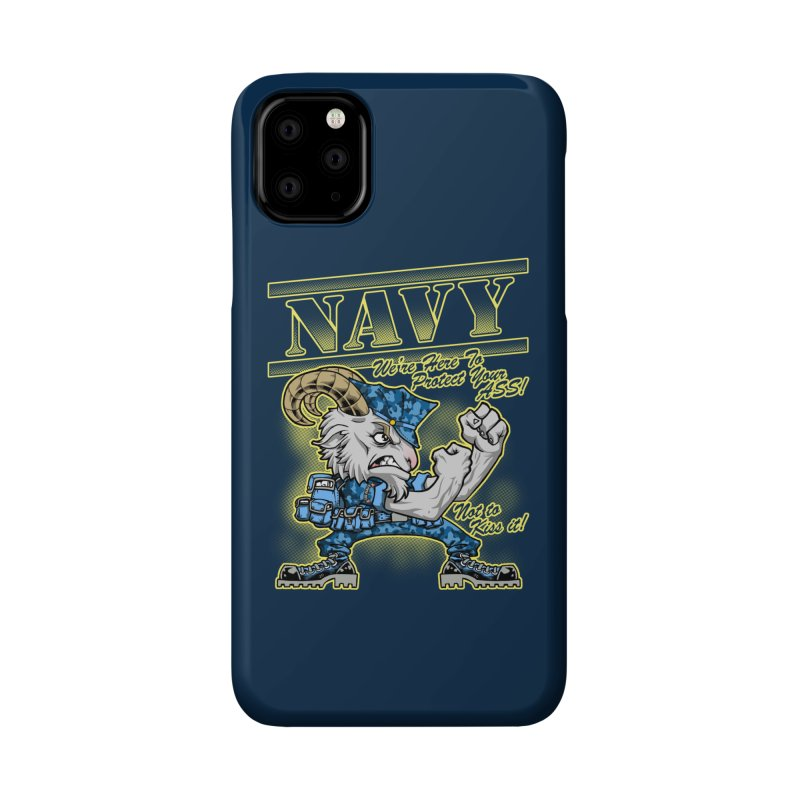 NAVY GOAT! Accessories Phone Case by Inkdwell's Artist Shop