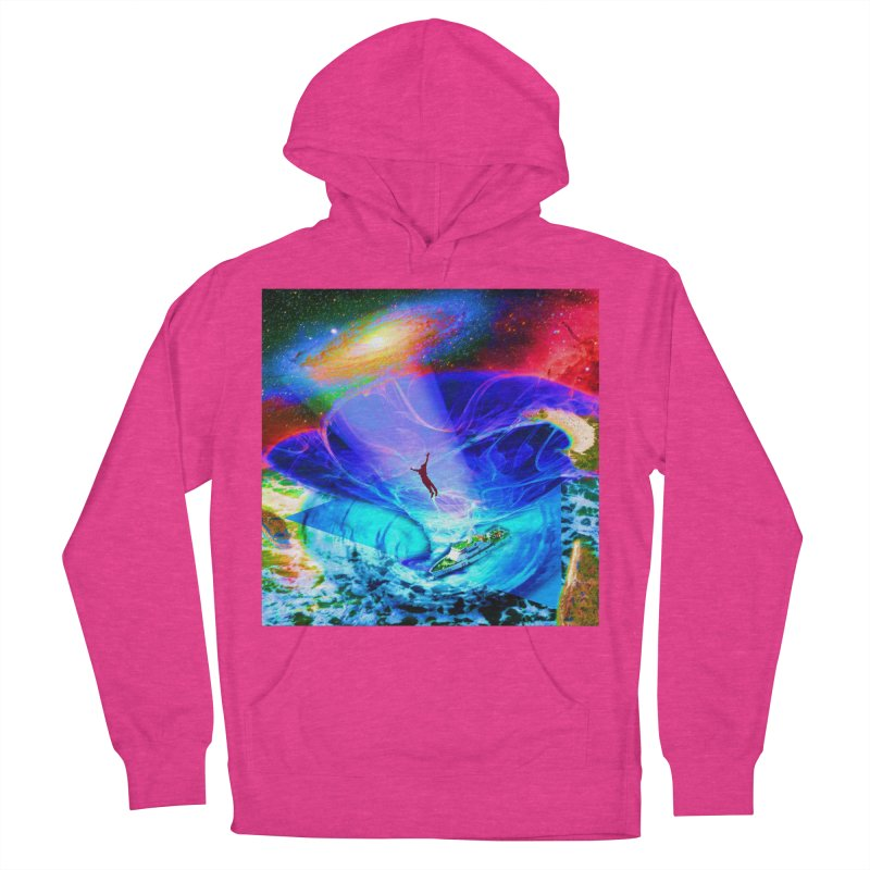 Bermuda Triangle Women's French Terry Pullover Hoody by InspiredPsychedelics's Artist Shop