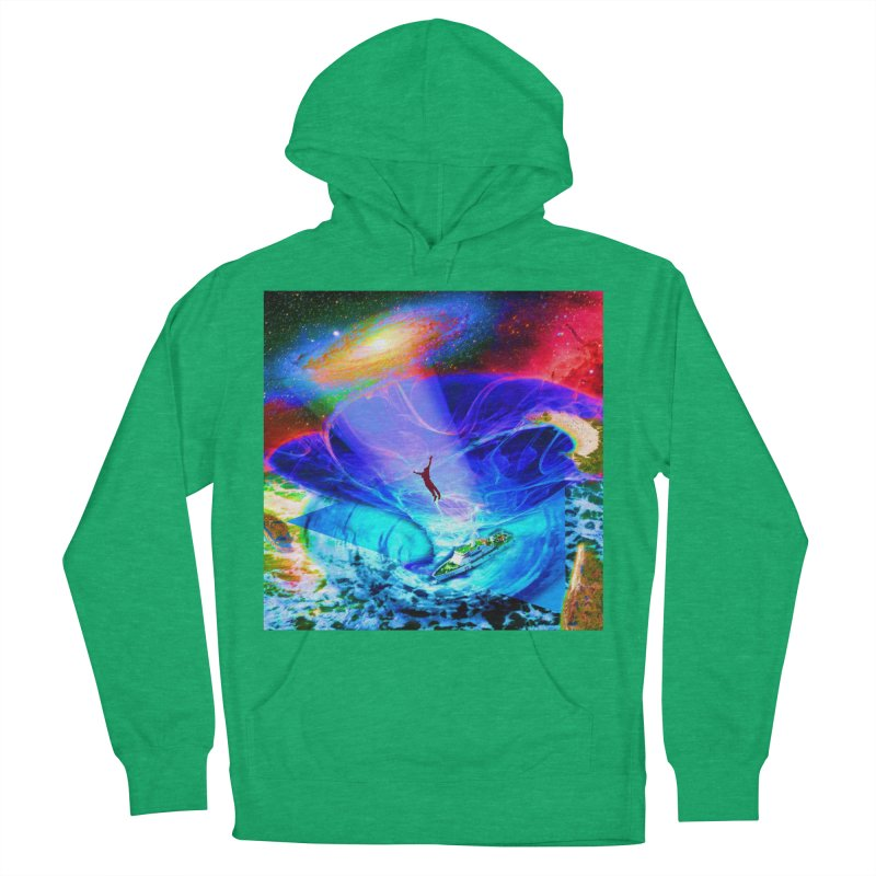 Bermuda Triangle Men's French Terry Pullover Hoody by InspiredPsychedelics's Artist Shop