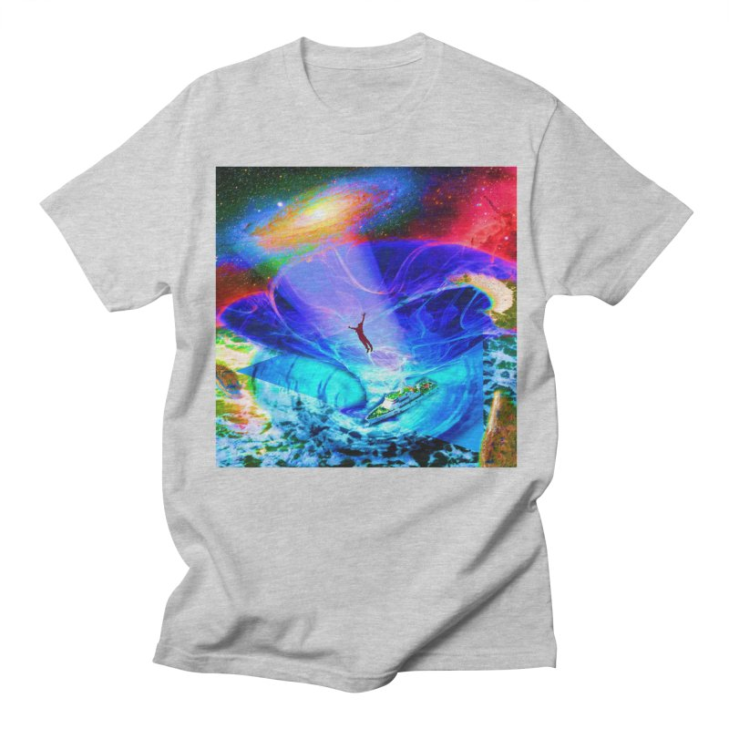 Bermuda Triangle Men's Regular T-Shirt by InspiredPsychedelics's Artist Shop