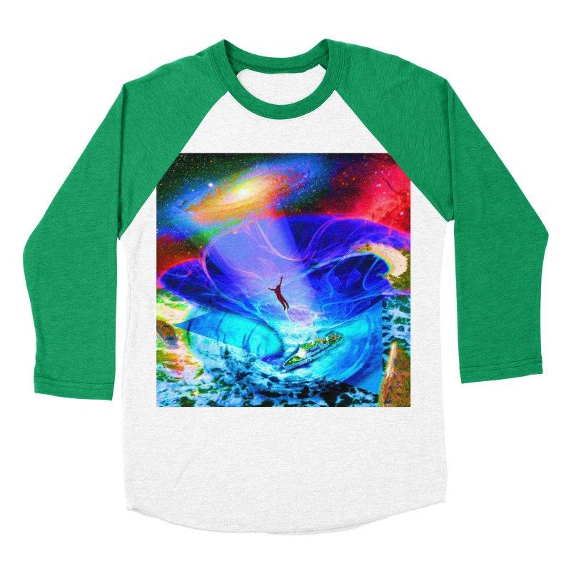 Bermuda Triangle Men's Baseball Triblend Longsleeve T-Shirt by InspiredPsychedelics's Artist Shop
