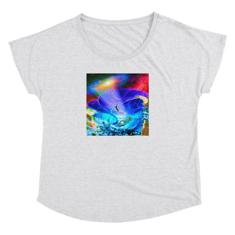 Bermuda Triangle Women's Dolman Scoop Neck by InspiredPsychedelics's Artist Shop