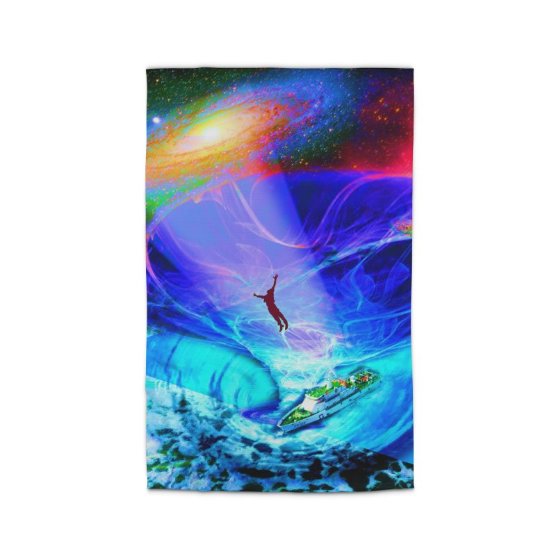 Bermuda Triangle Home Rug by InspiredPsychedelics's Artist Shop