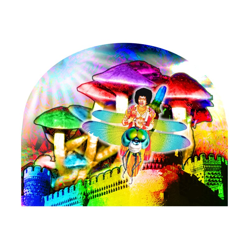 Spanish Castle Magic by InspiredPsychedelics's Artist Shop