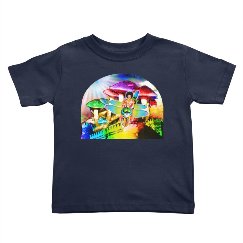 Spanish Castle Magic Kids Toddler T-Shirt by InspiredPsychedelics's Artist Shop