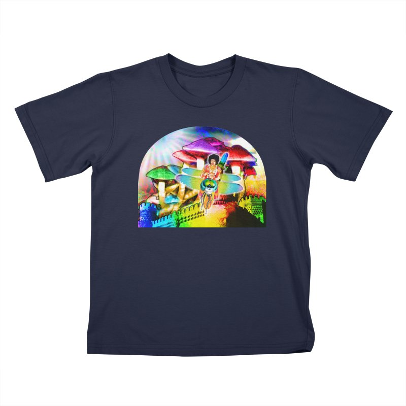 Spanish Castle Magic Kids T-Shirt by InspiredPsychedelics's Artist Shop