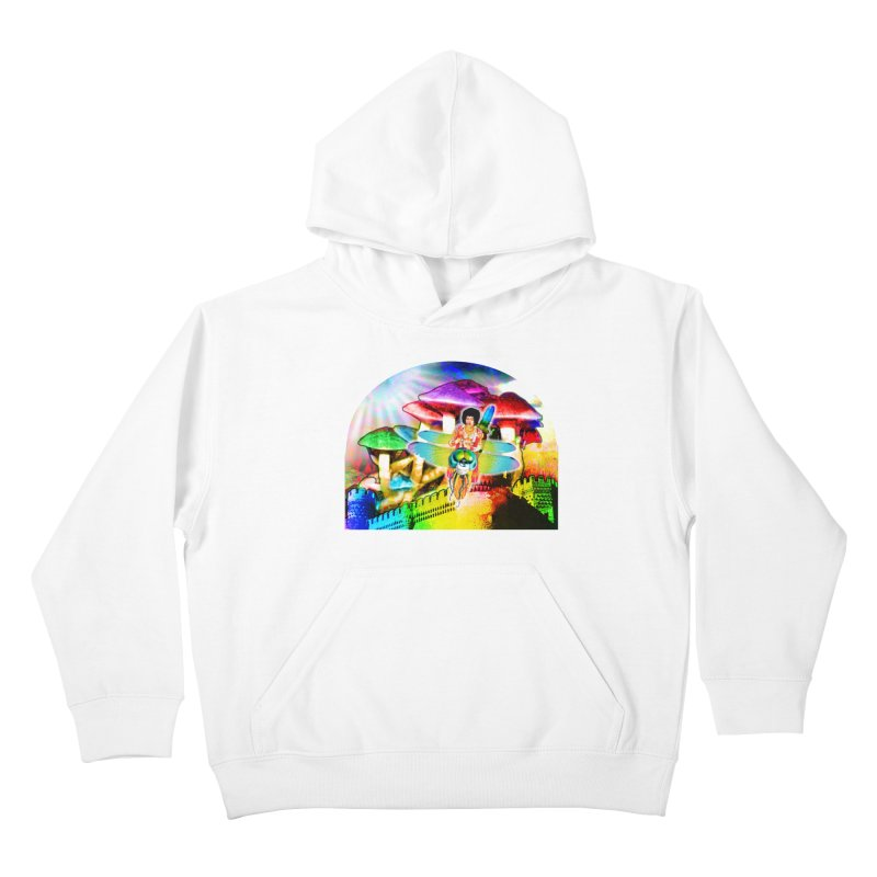 Spanish Castle Magic Kids Pullover Hoody by InspiredPsychedelics's Artist Shop