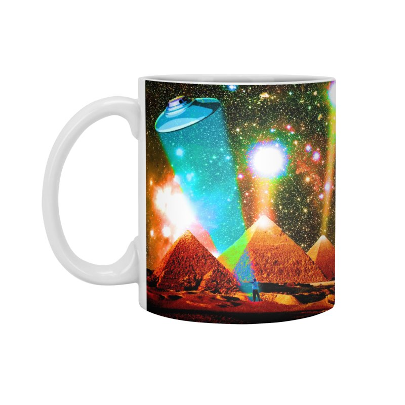The Pyramids of Giza Aligning with Orion's Belt Accessories Standard Mug by InspiredPsychedelics's Artist Shop