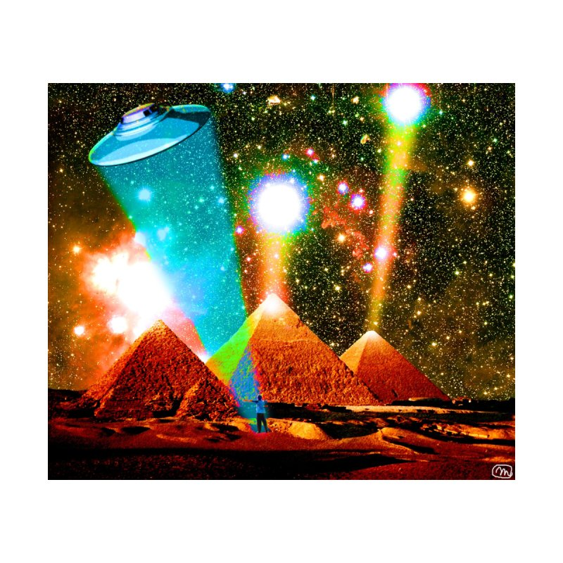 The Pyramids of Giza Aligning with Orion's Belt by InspiredPsychedelics's Artist Shop