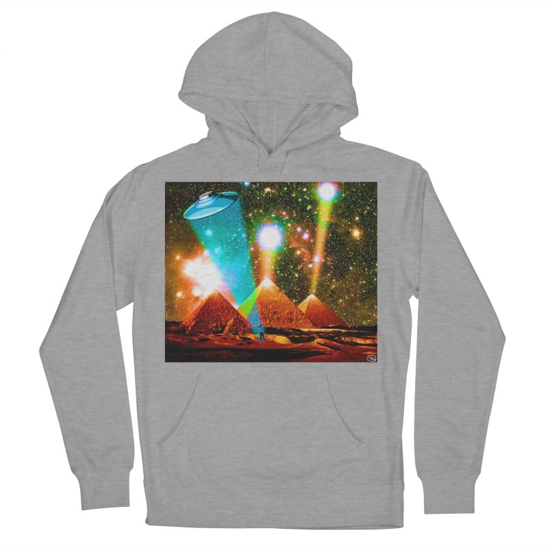 The Pyramids of Giza Aligning with Orion's Belt Men's French Terry Pullover Hoody by InspiredPsychedelics's Artist Shop