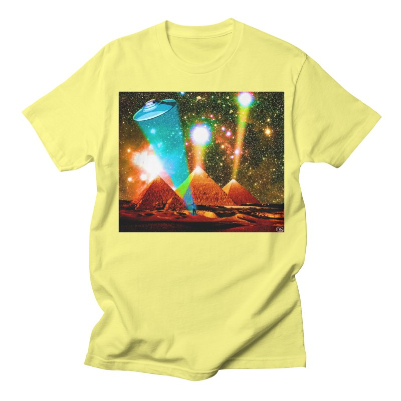 The Pyramids of Giza Aligning with Orion's Belt Women's Regular Unisex T-Shirt by InspiredPsychedelics's Artist Shop