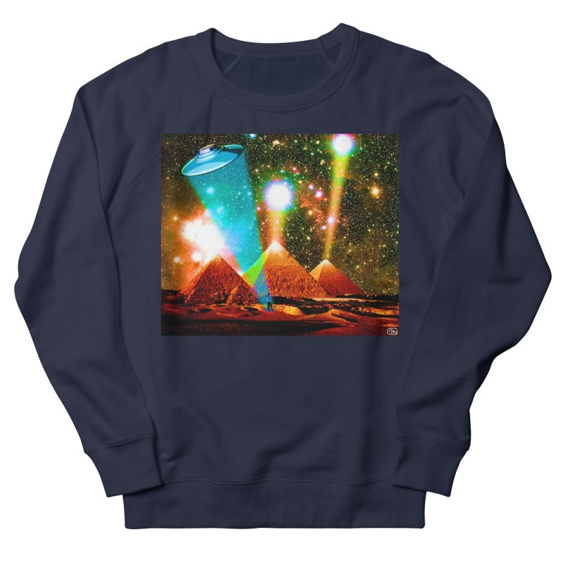 The Pyramids of Giza Aligning with Orion's Belt Women's French Terry Sweatshirt by InspiredPsychedelics's Artist Shop