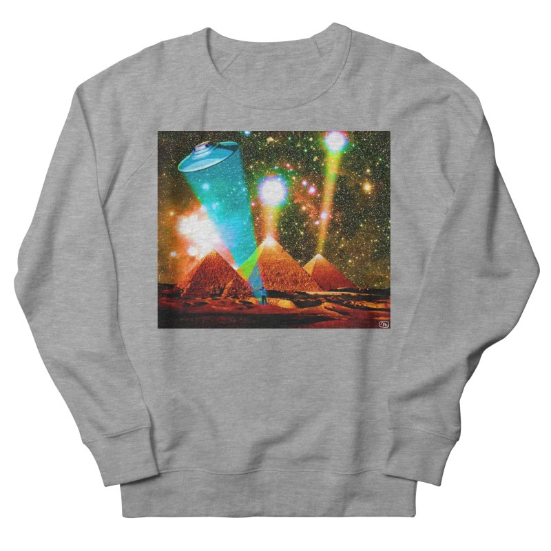 The Pyramids of Giza Aligning with Orion's Belt Men's French Terry Sweatshirt by InspiredPsychedelics's Artist Shop