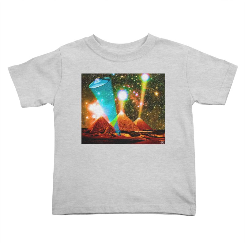 The Pyramids of Giza Aligning with Orion's Belt Kids Toddler T-Shirt by InspiredPsychedelics's Artist Shop