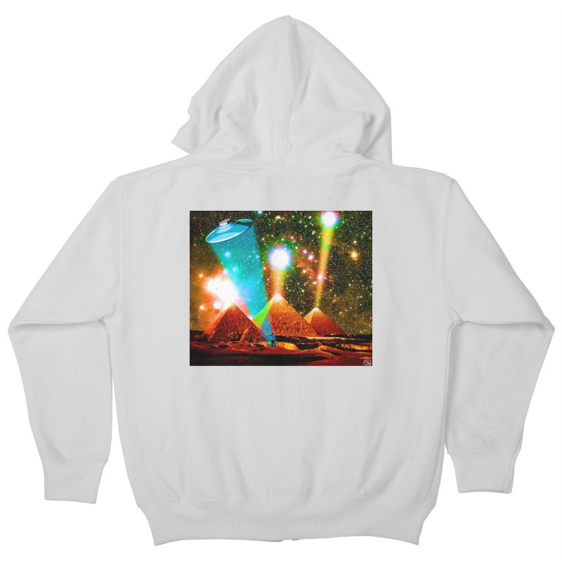 The Pyramids of Giza Aligning with Orion's Belt Kids Zip-Up Hoody by InspiredPsychedelics's Artist Shop