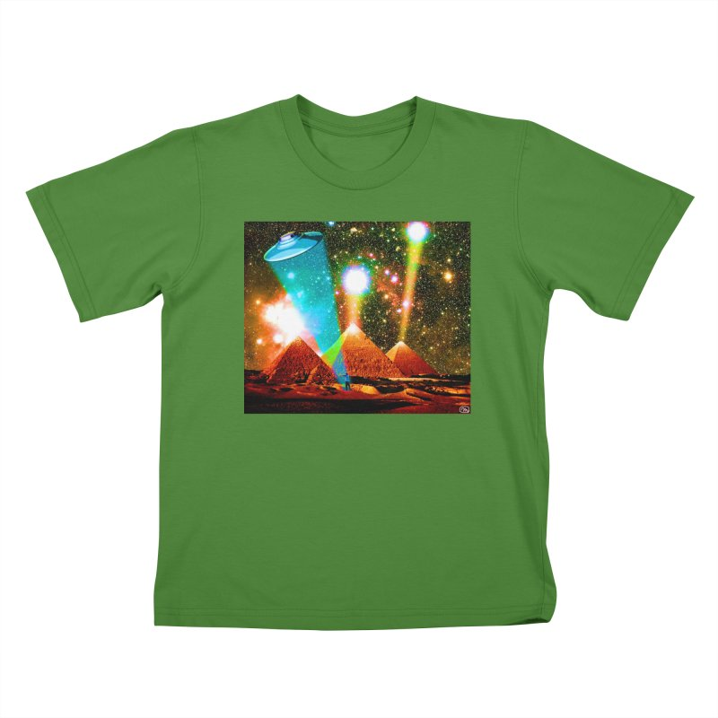 The Pyramids of Giza Aligning with Orion's Belt Kids T-Shirt by InspiredPsychedelics's Artist Shop