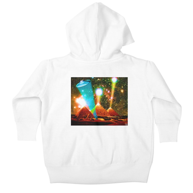 The Pyramids of Giza Aligning with Orion's Belt Kids Baby Zip-Up Hoody by InspiredPsychedelics's Artist Shop