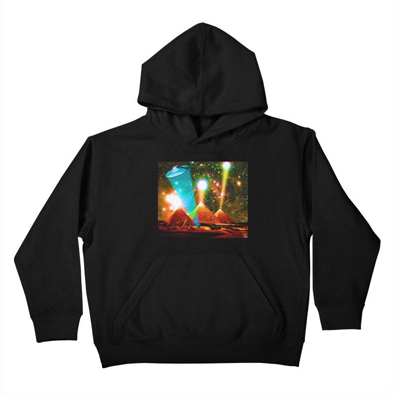 The Pyramids of Giza Aligning with Orion's Belt Kids Pullover Hoody by InspiredPsychedelics's Artist Shop