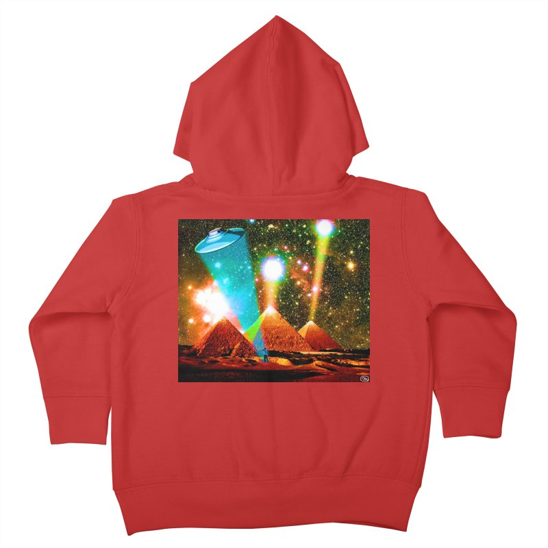 The Pyramids of Giza Aligning with Orion's Belt Kids Toddler Zip-Up Hoody by InspiredPsychedelics's Artist Shop