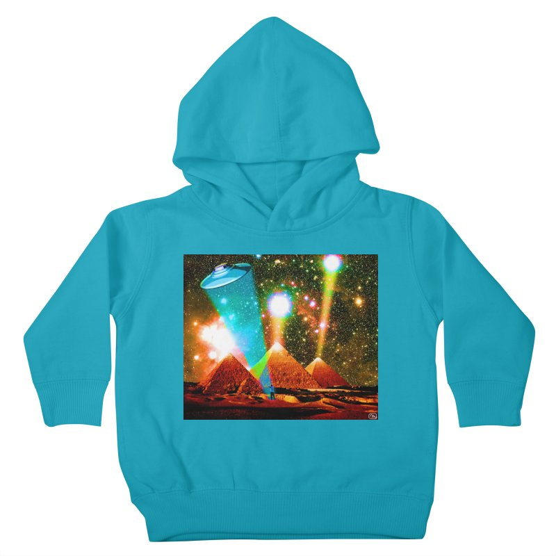 The Pyramids of Giza Aligning with Orion's Belt Kids Toddler Pullover Hoody by InspiredPsychedelics's Artist Shop